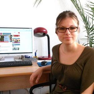 Fachoberschulpraktikantin Michelle Spronck (August 2013 bis Juli 2014)