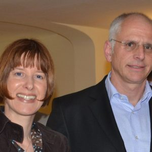 Heike Hofmann mit dem SPD-Bürgermeisterkandidat Gerald Frank (Münster)
