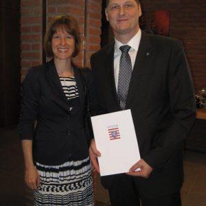 Verleihung Landesehrenbrief Markus Wortmann 23.04.2015