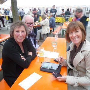 Auf dem Museumsfest in Griesheim trifft sich die Familie