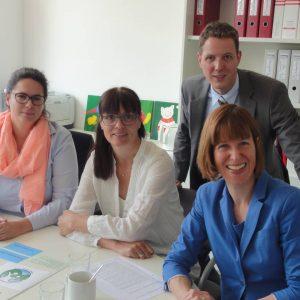 Besuch der Hans-Quick-Schule am 22.05.2015 mit dem Bildungspolitischen Sprecher der SPD-Landtagsfraktion Christoph Degen