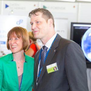 Präventionstag 2015 - Heike Hofmann mit Markus Wortmann