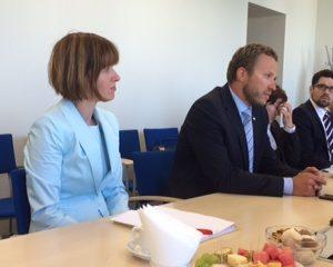 Reise des Hauptausschusses nach Estland - im Gespräch mit Sozialminister Margus Tsahkna