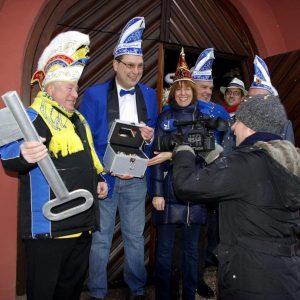 Rathauserstürmung des KVP 2017