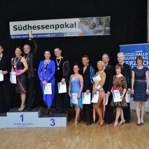 TSZ Blau-Gold Casino Darmstadt Siegerehrung (2)