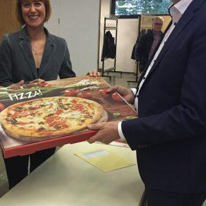 Pizza und Politik mit Thorsten Schäfer-Gümbel