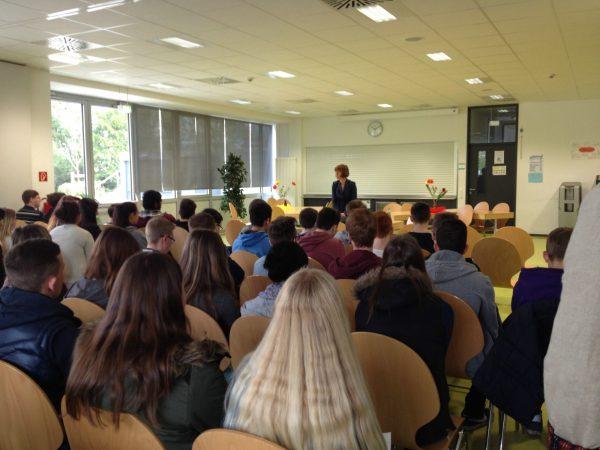Besuchergruppe der Melibokussschule am Donnerstag, den 27. November 2014