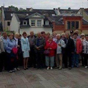 Die Besuchergruppe des VdK Alsbach-Hähnlein im Mai 2014