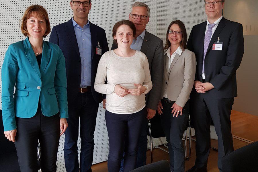 Gespräch der Rechtspolitiker der SPD-Landtagsfraktion