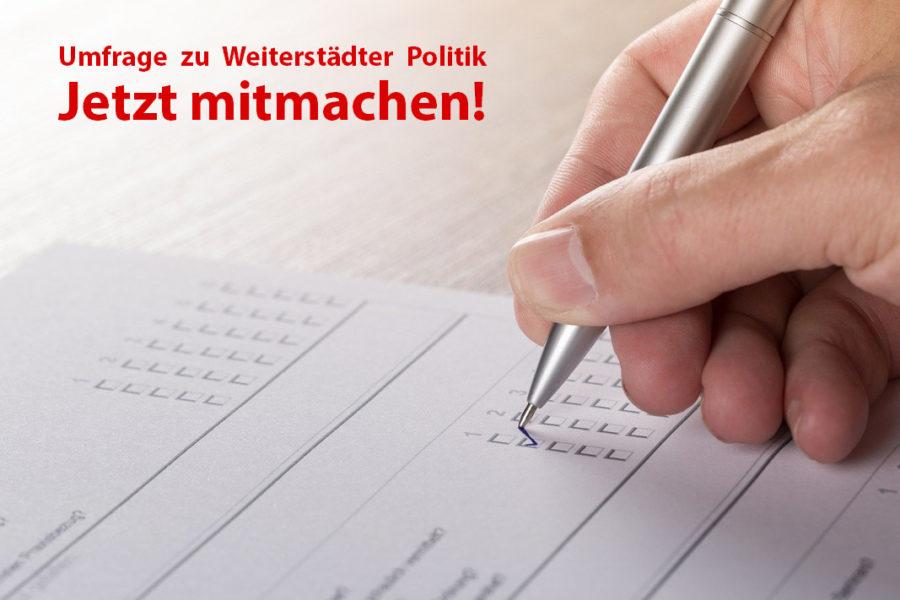 Umfrage Weiterstadt